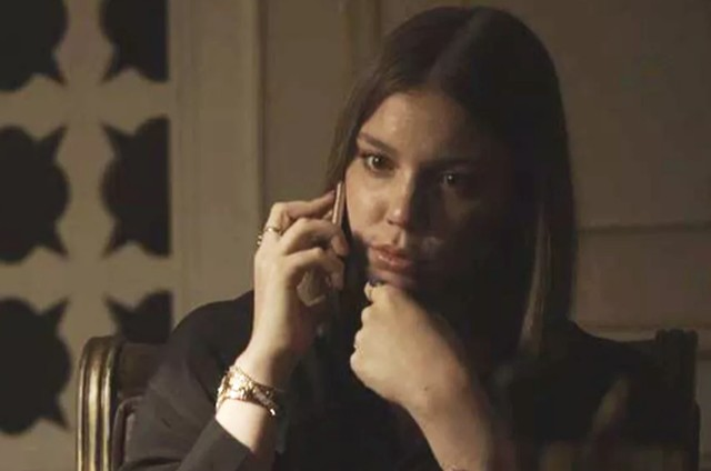 Alice Wegmann, a Dalila de 'Órfãos da terra' (Foto: TV Globo)