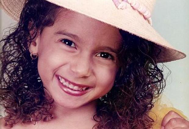 Olha como a Anitta era fofa!  (Foto: Reprodução )