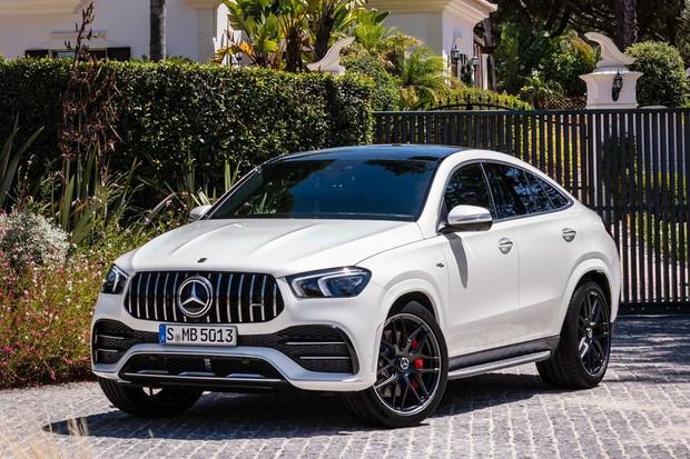 O novo coupé da Mercedes-Benz (Foto: Divulgação)