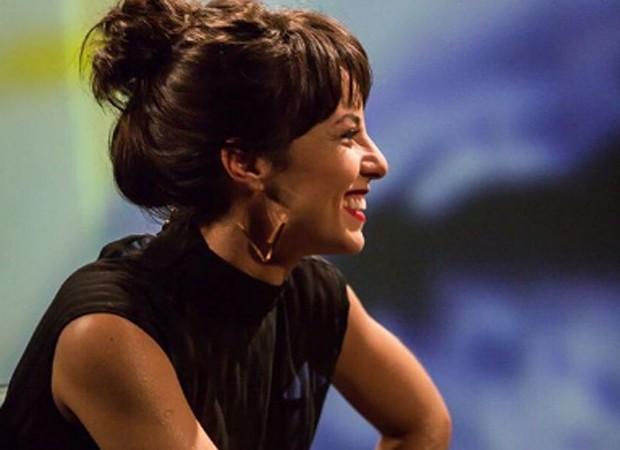 Andréia Horta já está envolvida com as gravações de programa do Canal Brasil (Foto: Reprodução/Instagram)