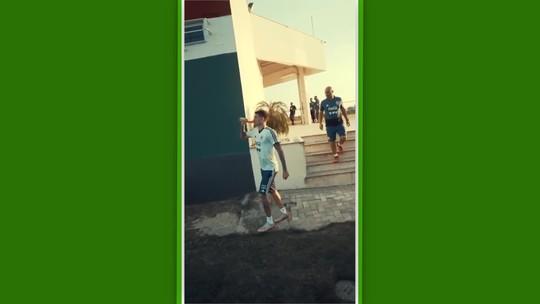 Logo depois do Uruguai, Argentina faz primeiro treino no Rio de Janeiro em CT do Fluminense