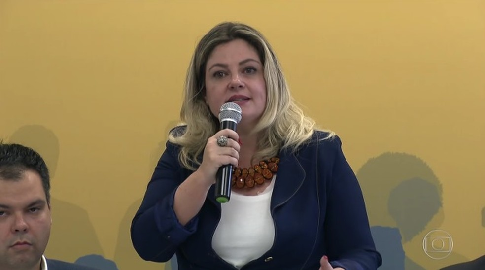 Vereadora Patrícia Bezerra (Foto: Reprodução/TVGlobo)