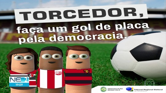 TRE reforça campanha pelo recadastramento biométrico com apoio de Náutico, Santa e Sport