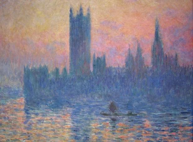 House of Parliament, de Claude Monet (Foto: Wikimedia Commons/ Reprodução)