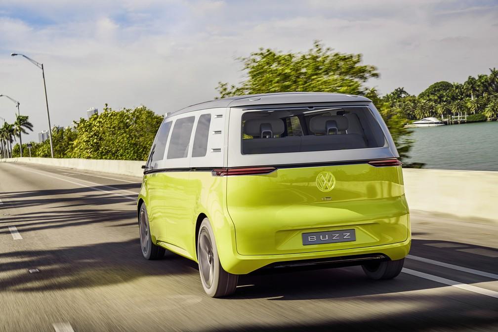 Volkswagen ID Buzz Concept (Foto: Divulgação)