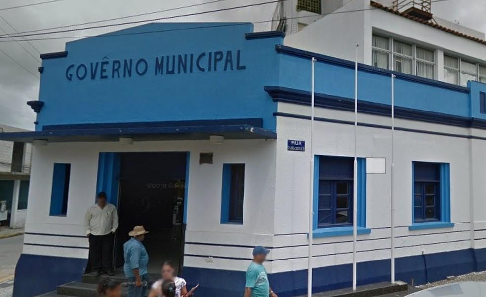 Prefeitura de Ipojuca fica no Grande Recife — Foto: Reprodução/Google Street View