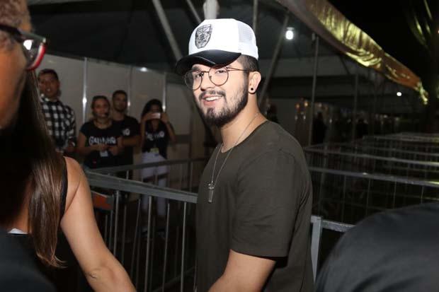 Luan Santana e Jade  (Foto: Daniel Janssens/QUEM)