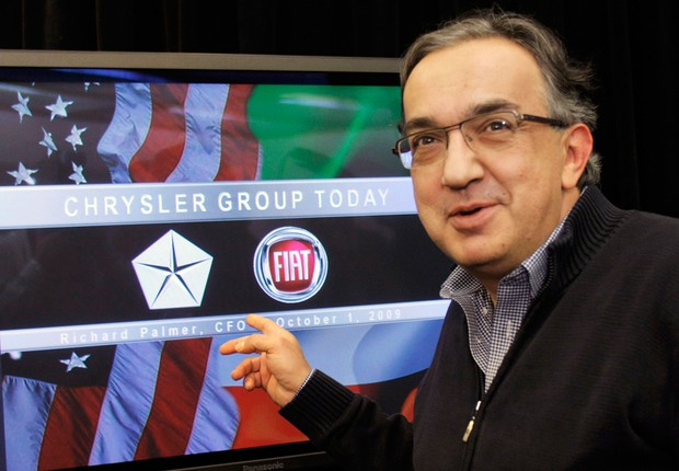 Sergio Marchionne, presidente-executivo da Fiat (Foto: Getty Images)