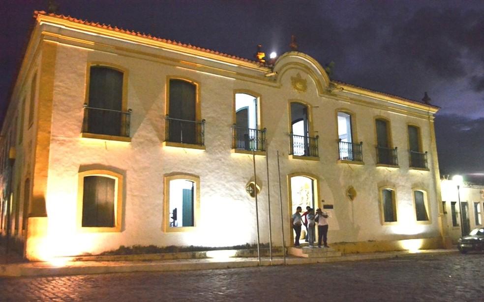 Museu Histórico de Sergipe, em São Cristóvão (Foto: Divulgação/Secult-SE)