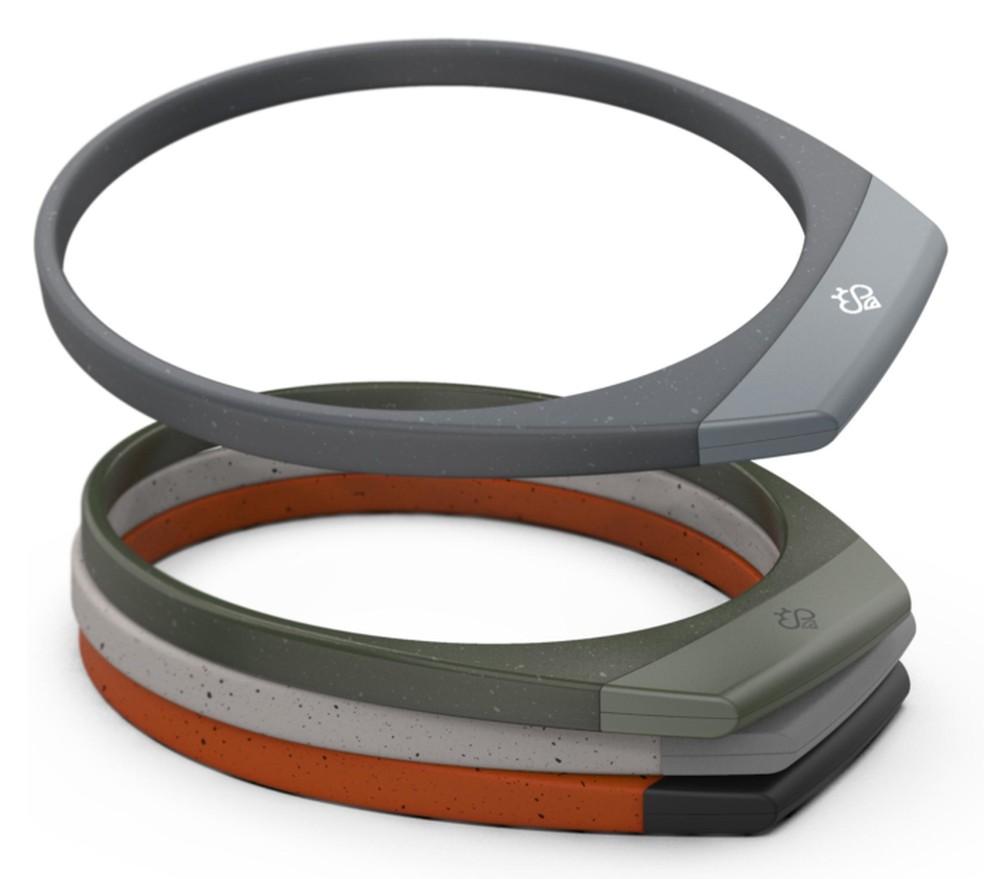 De acordo com a marca, o Hapbee é um produto leve e de uso confortável — Foto: Foto: Indiegogo/Divulgação