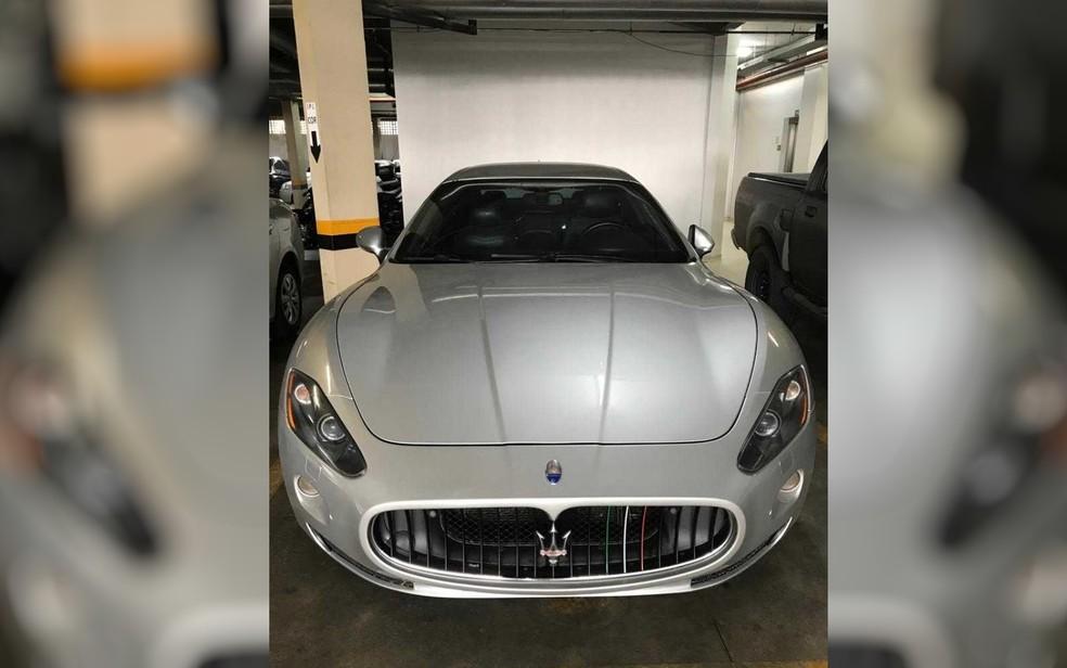 PF apreendeu 14 carros de luxo durante a Operação Confraria — Foto: PF/Divulgação