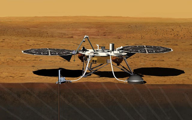 Sonda InSight  (Foto: NASA/JPL-Caltech)