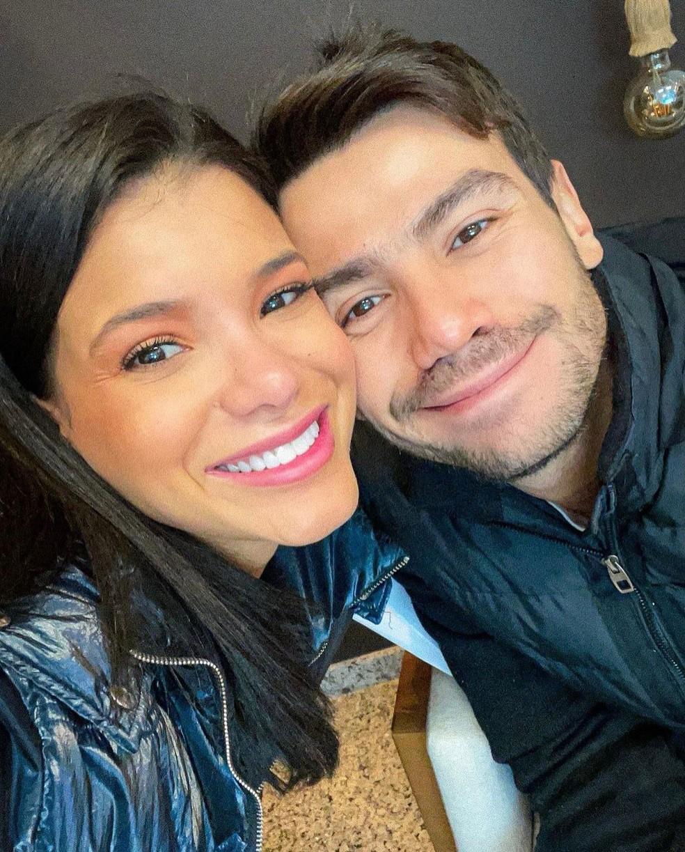 Jakelyne Oliveira e Mariano estão juntos há um ano — Foto: Reprodução/Instagram