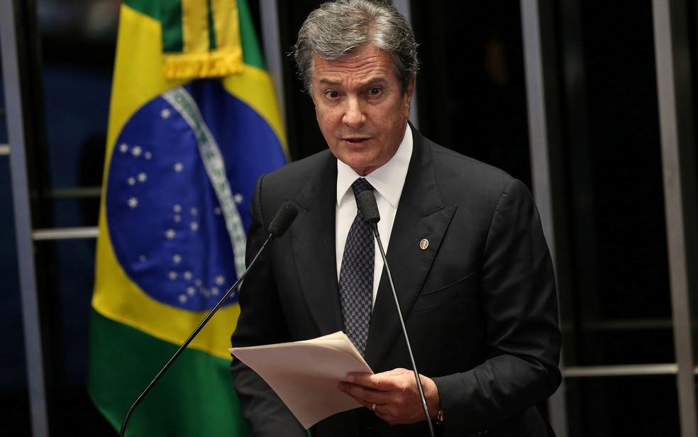 O senador Fernando Collor de Mello (PTC-AL)  (Foto: Agência Senado)