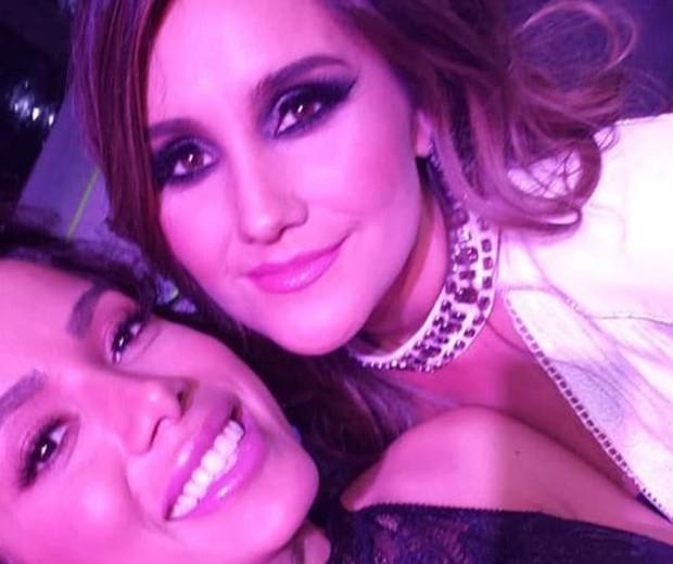 Anitta e Dulce Maria (Foto: Reprodução/Instagram)