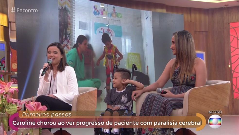 Encontro  — Foto: TV Globo