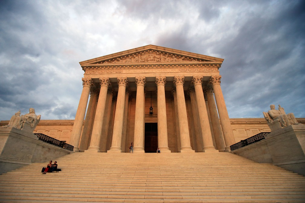Suprema Corte dos Estados Unidos, em Washington, em foto de 4 de outubro de 2018  — Foto: Manuel Balce Ceneta/ AP