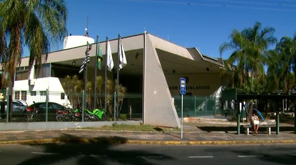 Câmara Municipal de Araras (Foto: Reprodução/EPTV)