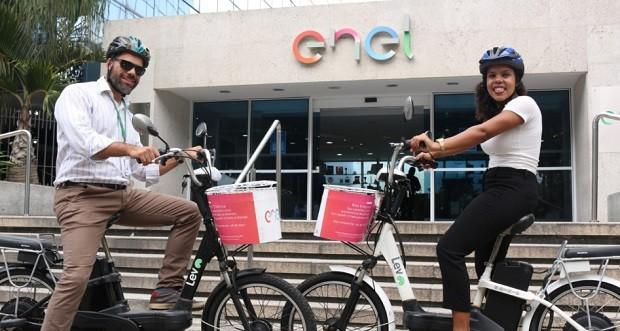 Projeto de Bike Sharing da ENEL (Foto: Divulgação)
