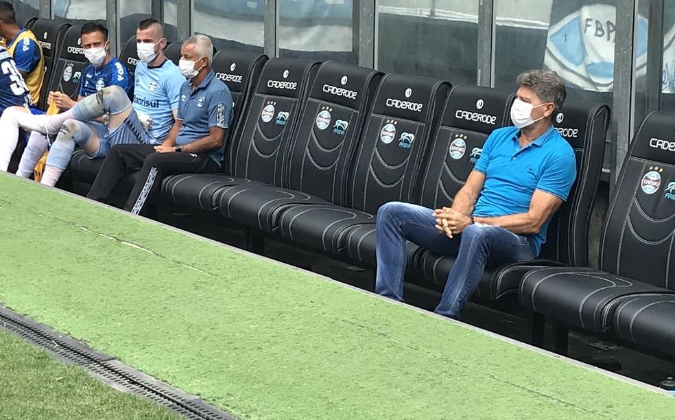 Renato defendeu greve caso o futebol não paralisasse atividades — Foto: Paula Menezes/RBS TV