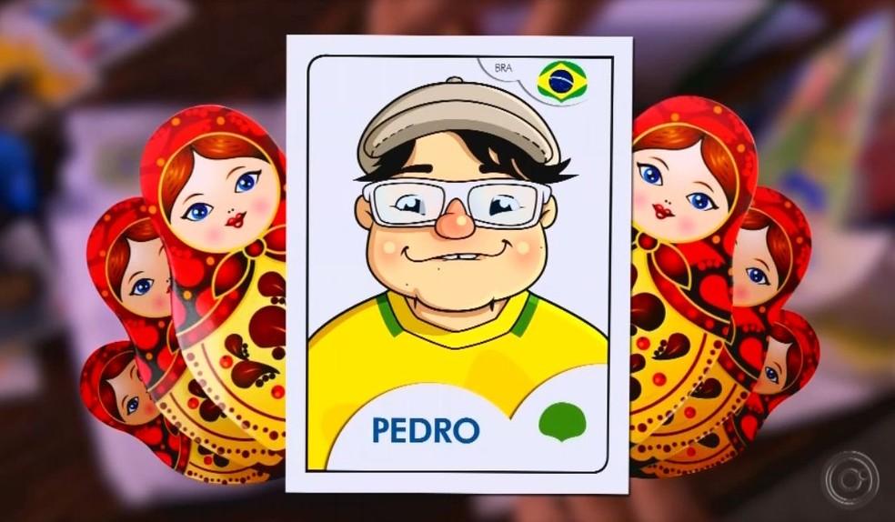 Pedro se tornou a 'figurinha' da escola, diz a professora  (Foto: TV TEM / Reprodução )