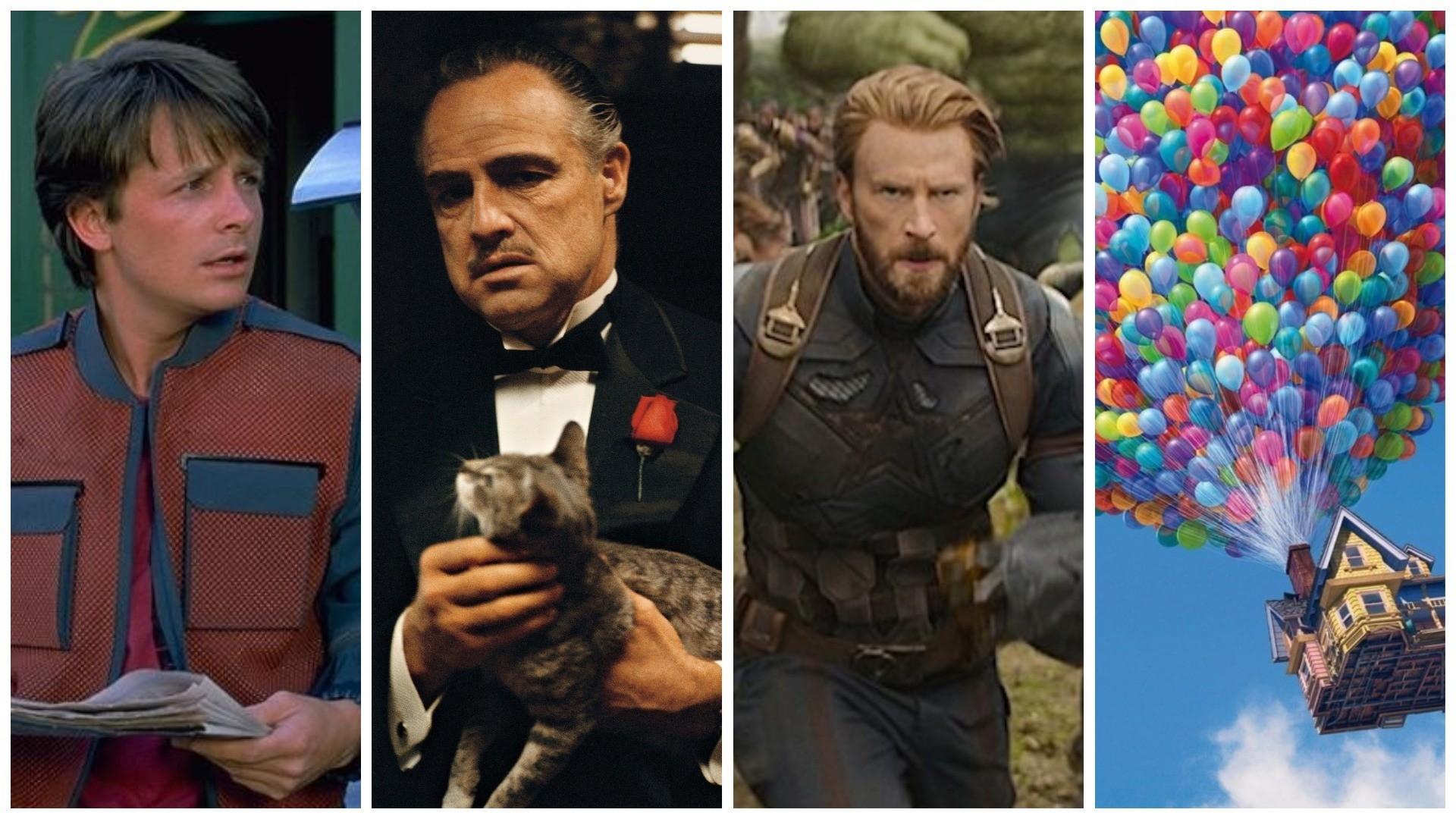 De Volta para o Futuro, O Poderoso Chefão, Vingadores: Guerra Infinita, Up: Altas Aventuras estão na lista dos 365 filmes para ver em 2019, na MONET de janeiro (Foto: Reprodução)