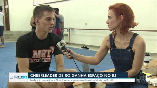 Cheerleader de Rondônia é convocado para integrar equipe carioca