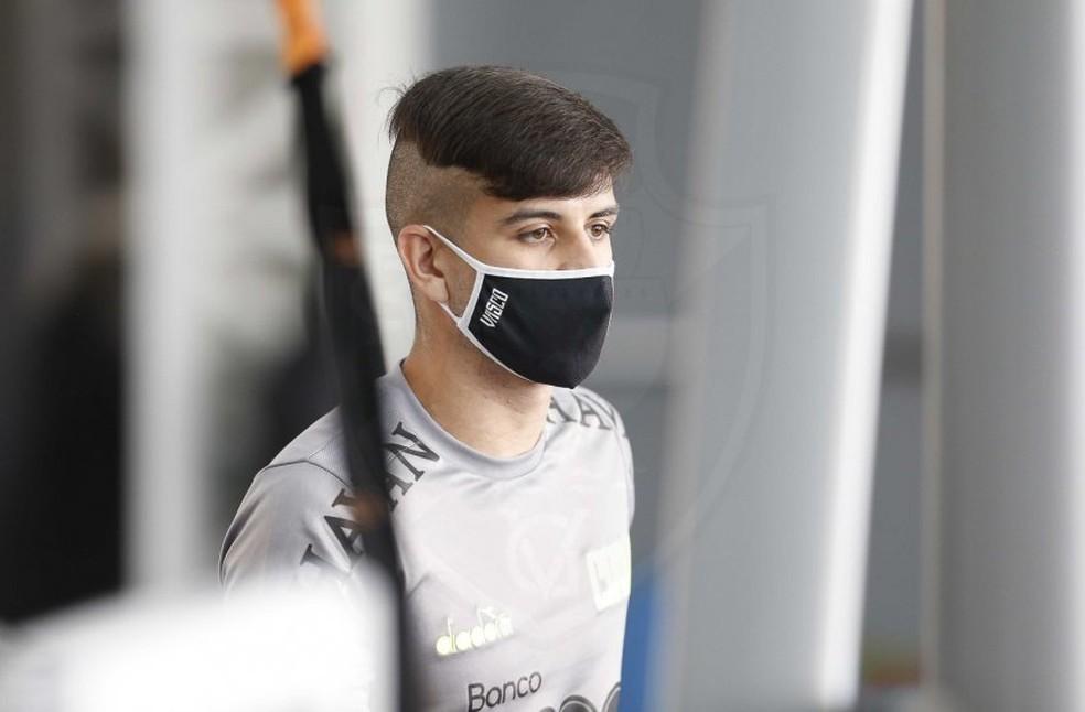 Ricardo Graça foi testado e deve ser uma das novidades de Ramon — Foto: Rafael Ribeiro / Vasco
