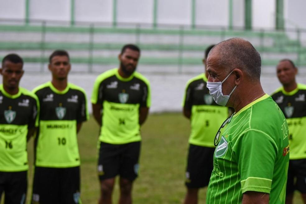 Celso Teixeira chegou ao Murici nesse sábado — Foto: Jailson Colácio/Ascom Murici