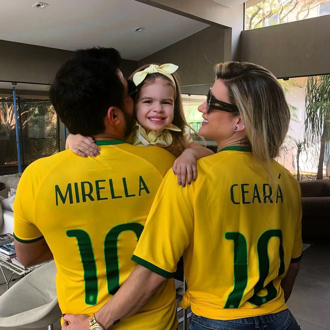 Mirella Santos, Ceará e Valentina (Foto: Reprodução/Instagram)