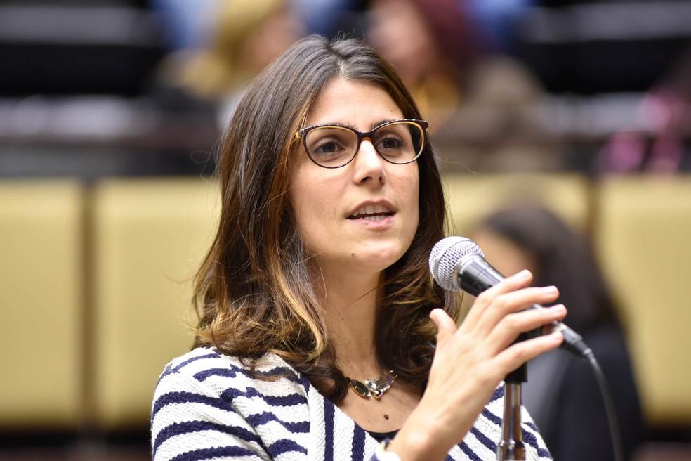 Manuela D'Ávila (PC do B) (Foto: Marcelo Bertani/Agência ALRS/Arquivo)