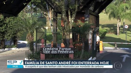 Corpos da família encontrada morta em Santo André são enterrados