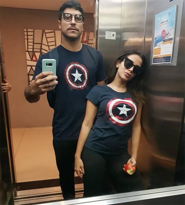 Thiago Magalhães e Anitta (Foto: Reprodução/Instagram)