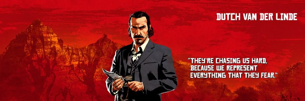 Dutch van der Linde, de Red Dead Redemption 2 — Foto: Divulgação/Rockstar