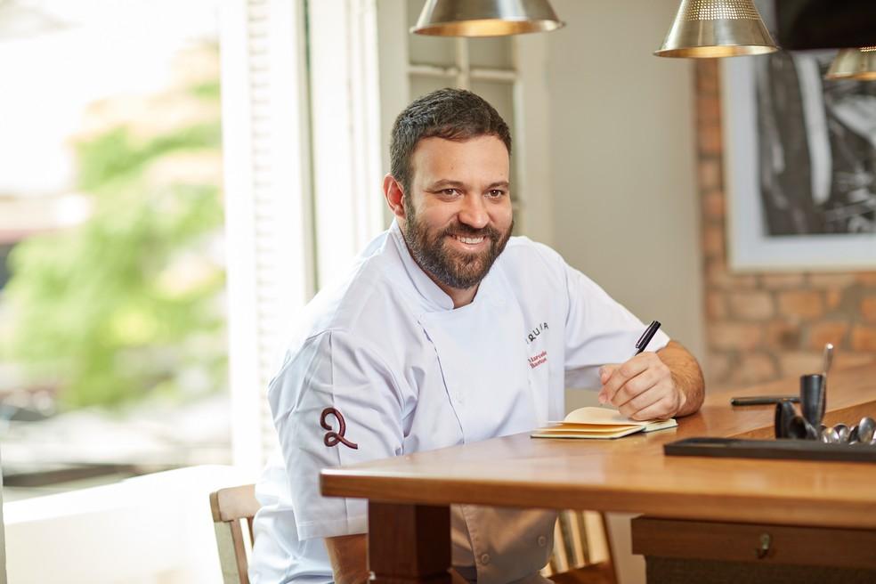 Chef Marcelo Bastos, proprietário do Jiquitaia — Foto: Jiquitaia/Divulgação