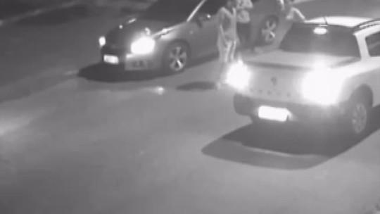 Polícia divulga imagens de câmeras de segurança que registram assassinato de professor em Marabá