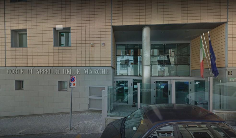 Tribunal de Apelação da cidade de Ancona, na Itália — Foto: Reprodução/Google Maps