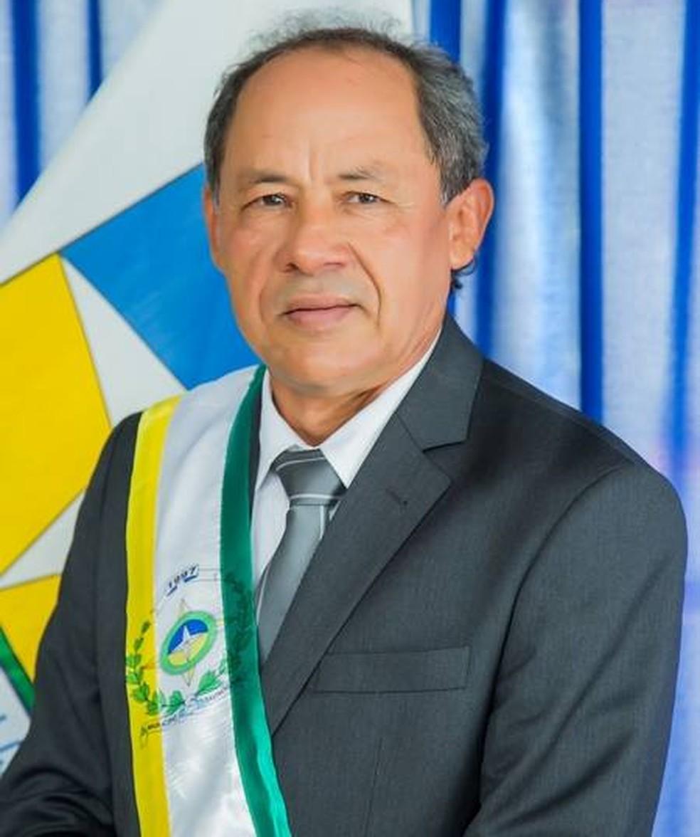 Prefeito de Davinopólis Ivanildo Paiva (PRB) foi encontrado morto no dia 11 de novembro de 2018 — Foto: Divulgação/Prefeitura Municipal de Davinopólis
