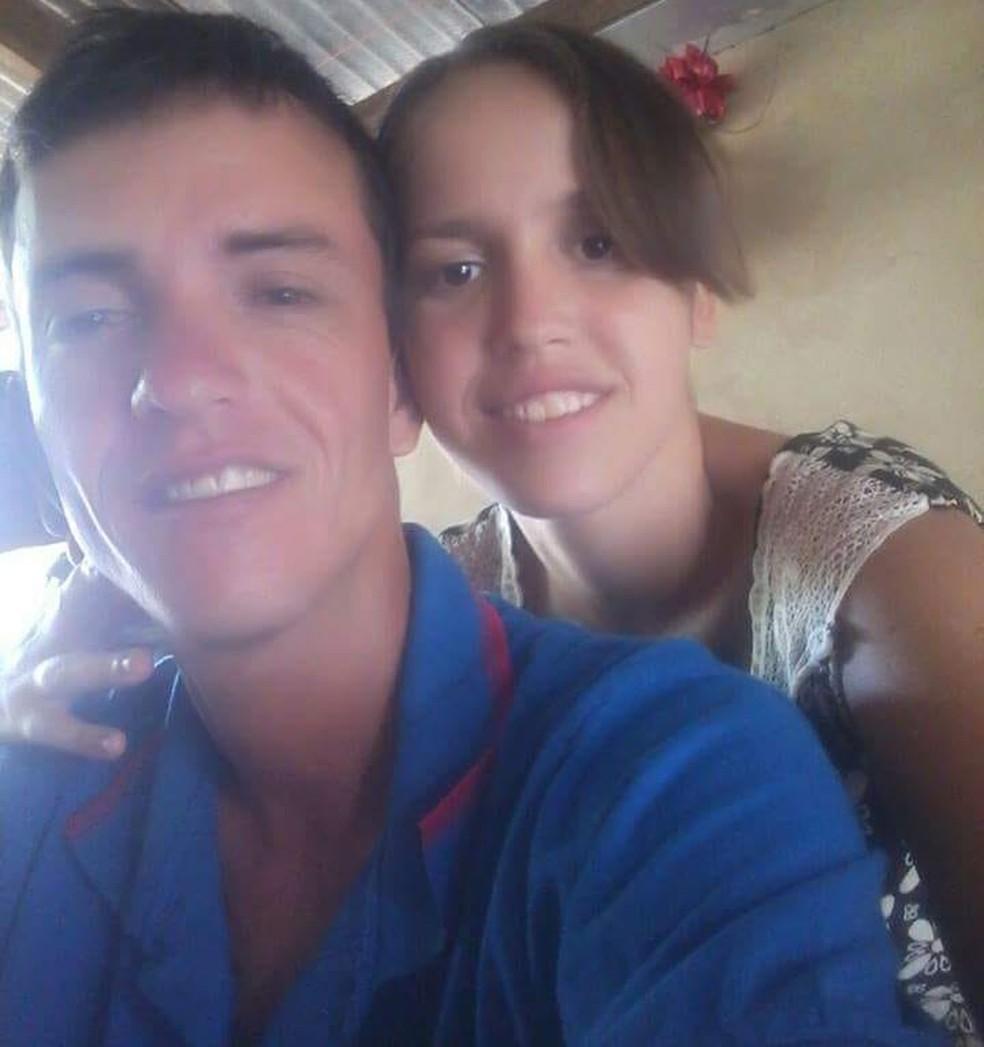 Itacir Lopes da Silva, de 30 anos, e a mulher dele, Lucimar Sousa de Oliveira, de 20, estavam desaparecidos desde sexta-feira (10) (Foto: Divulgação)
