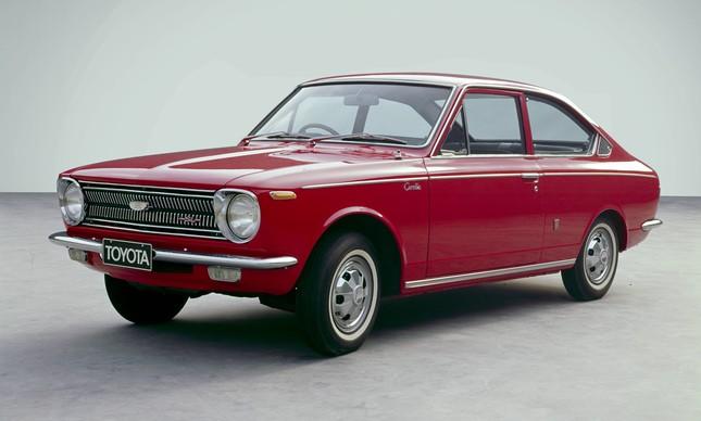Toyota Corolla primeira geração - 1966