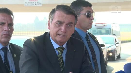 Bolsonaro diz que ONGs podem estar por trás de queimadas na Amazônia