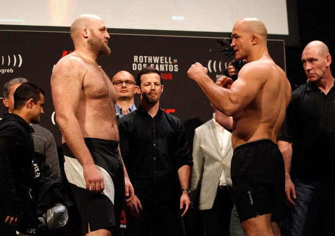 Ben Rothwell Junior Cigano UFC Croácia (Foto: Getty Images)