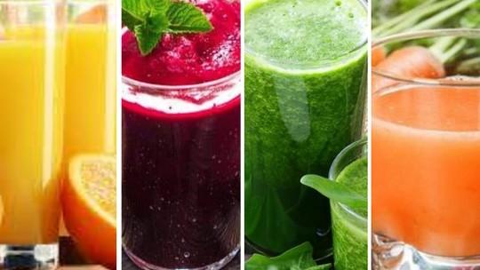 Veja 4  sucos detox para desinchar o corpo