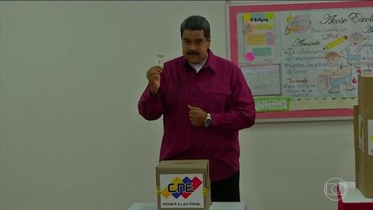 Após reeleição de Maduro, EUA impõem nova sanção à Venezuela
