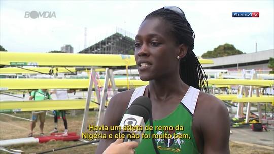 Remadora americana vai representar a Nigéria na Rio 2016