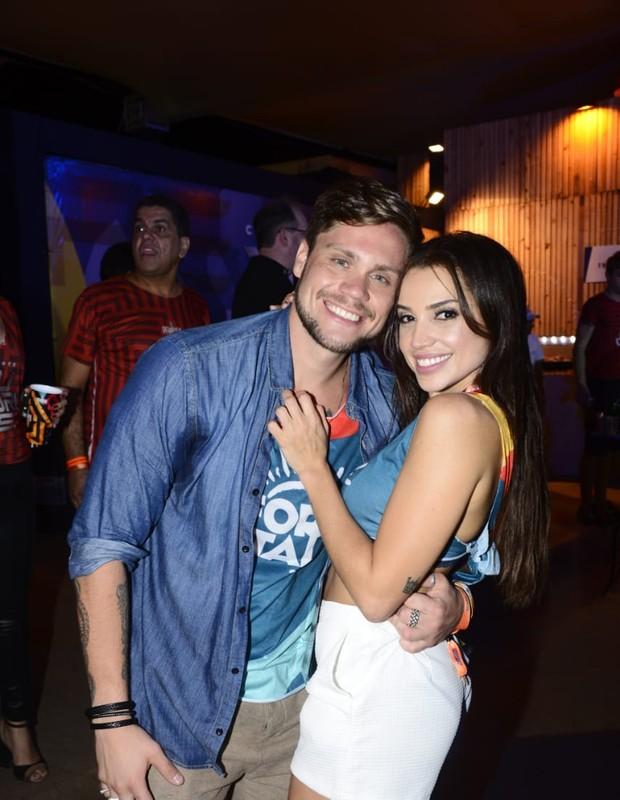 Paula Amorim e Breno Simões (Foto: Davi Magalhães/Divulgação)