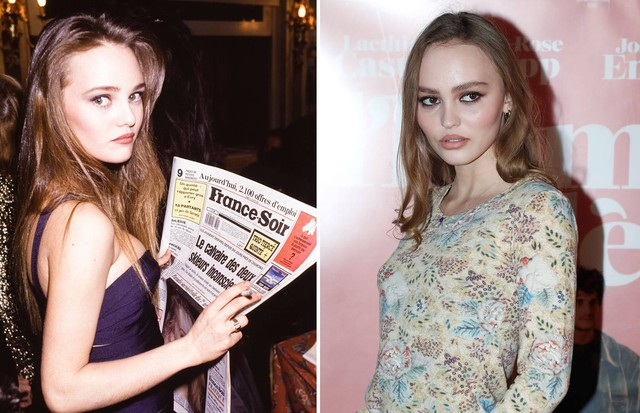Vanessa Paradis e Lily-Rose Depp (Foto: Getty Images)