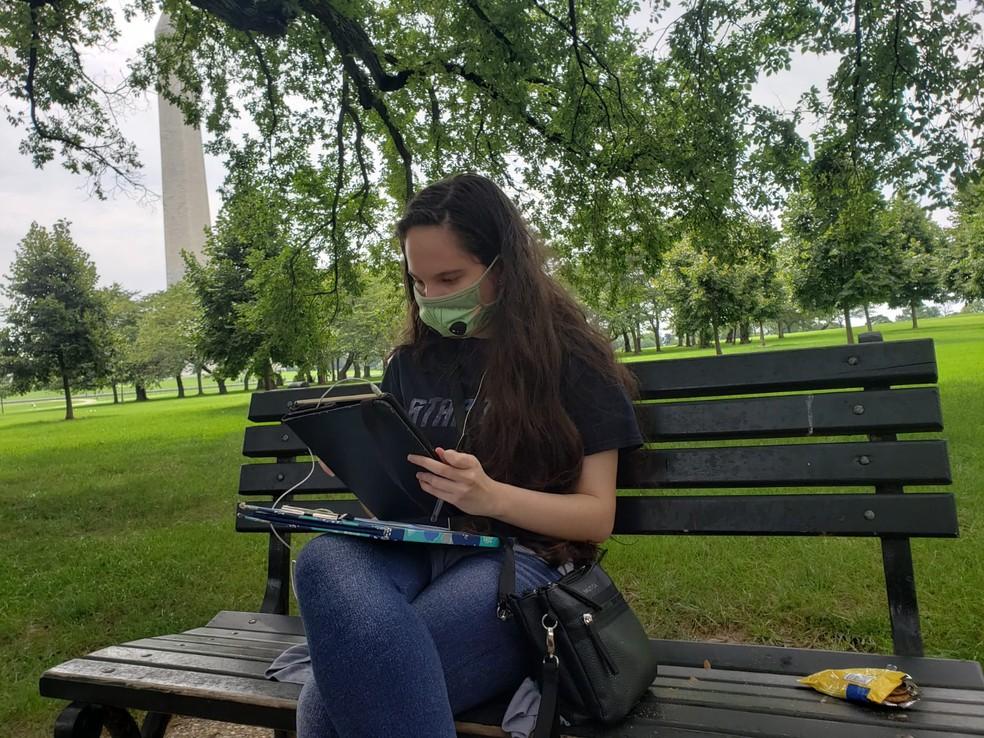 Paraibana é aprovada em seis universidades dos Estados Unidos para cursar astrofísica — Foto: Arquivo Pessoal/Ananda Figueiredo