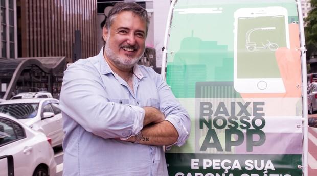 Marcelo Burle, fundador da Carona Verde (Foto: Divulgação)