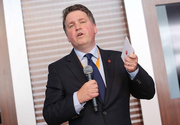 Justin Forsyth, vice-diretor da Unicef  (Foto: Getty Images)